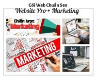 GÓI WEBSITE CHUẨN SEO GOOGLE MARKETING
