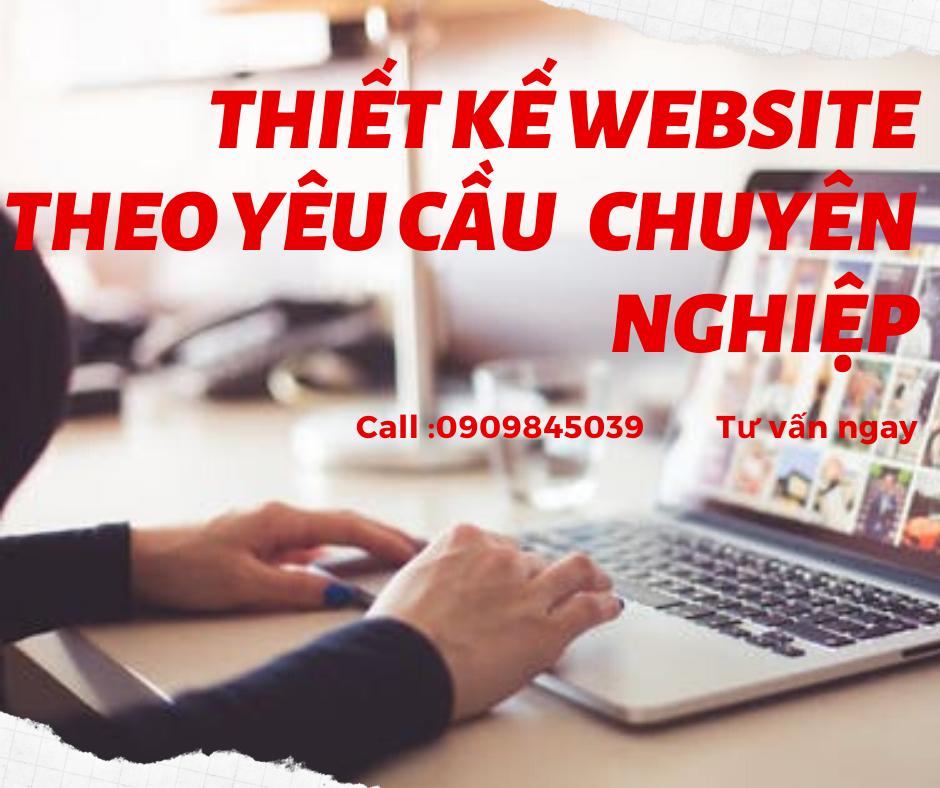 thiet ke web theo yeu cau