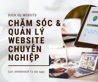 Chăm sóc & Quản lý Website chuyên nghiệp